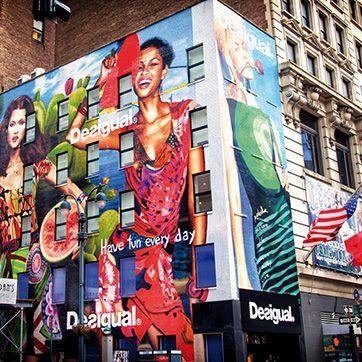 Desigual Store in New york City #NewYork #NYFW