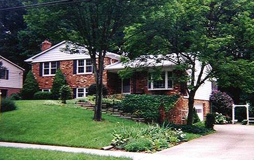 Split level home remodeling home remodel home split for Craftsman style split level homes