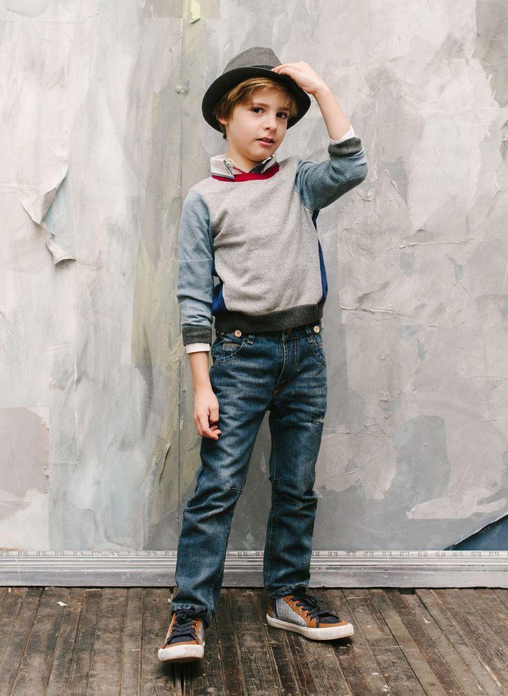 Vierra Rose Lucien Color Blocked Sweater in Yellow - SW2015 – Hello Alyss - Designer Children's Fashion Boutique