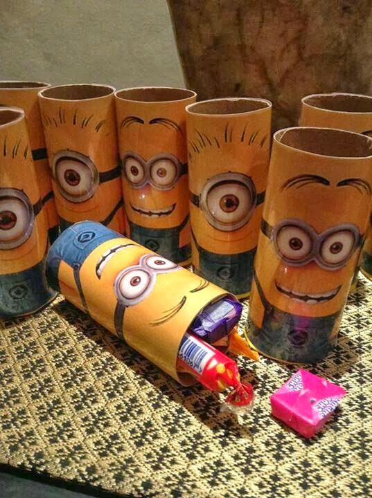 Ideias para festa Minions | Macetes de Mãe                                                                                                                                                     Mais
