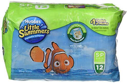 Huggies Little Swimmers Diapers - Small - 12 ct