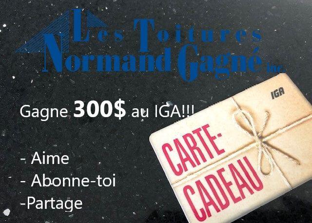 Gagnez Une Carte Cadeau De 300 Au Iga Carte Cadeau