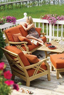 Coastal Teak Outdoor Furniture.