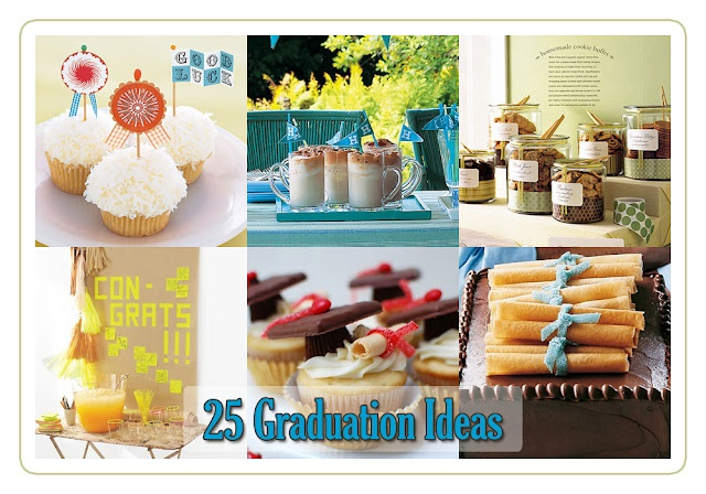The Cottage Market: 25 Graduation Ideas  ANYONE with a grad needs to look at this site, super cute ideas! Nancy...