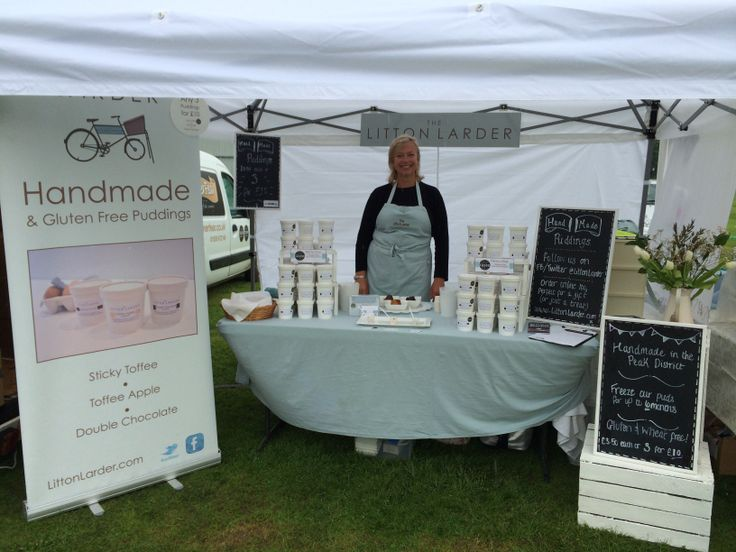 Our pop up shop at Ashby de la Zouch food festival