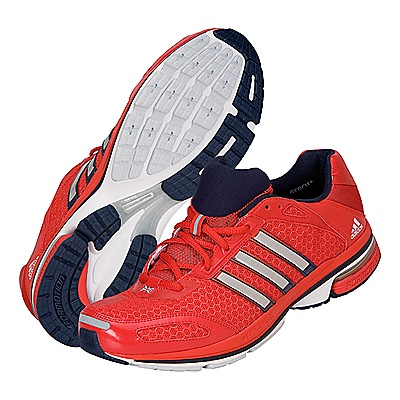 Adidas Team GB Podium Shoes. Red/White. Worn by Kate at Olympic Park on 8/5/12. $156 at www.johnlewis.com. Currently out of stock.