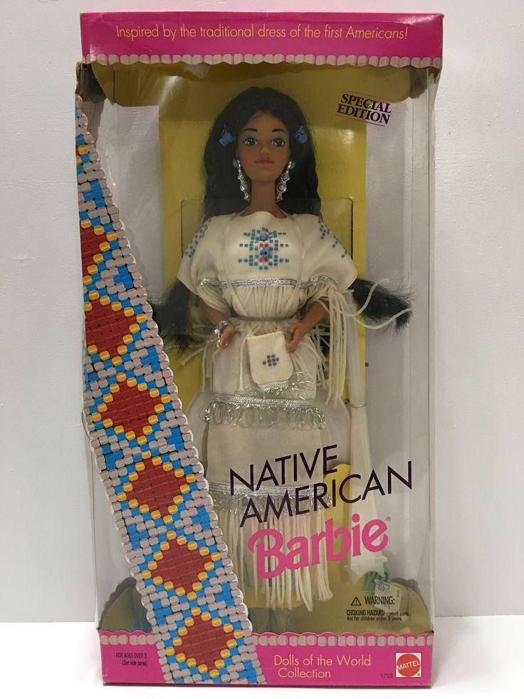 1992 Mattel Barbie Native American Special Edition