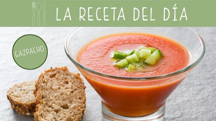 Prepara una #receta muy veraniega con esta propuestas de gazpacho apto para niños desde un año.