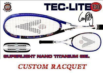 Other Racquet Sport Accs 159161: Karakal Tec Lite 130 Gel Squash Racquet (New) Closeout Price!! -> BUY IT NOW ONLY: $98.95 on eBay!
