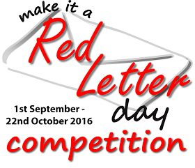 Make it a Red Letter Day Competition Logo