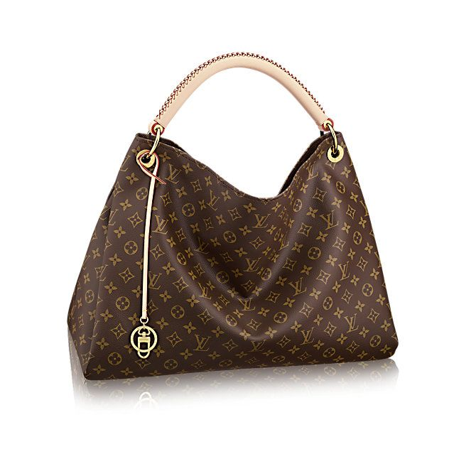 Discover Louis Vuitton Artsy MM: The Artsy MM embodies understated bohemian style. Louis Vuitton's iconic and divinely supple Monogram canvas is enhanced by rich golden color metallic pieces and an exquisite handcrafted leather handle.