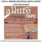 CalFlor 75 ft. 2-Sided Tape for Allure Flooring, Clear