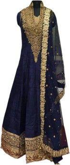 Specifications of Shree Sai NX Embroidered Kurta & Salwar : Pattern Embroidered, Type Kurta & Salwar, Kurta Fabric Banglori Silk,Salwar & Dupatta Fabric Santoon,Kurta Type Straight,Pattern round Neck.