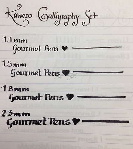 17 Best Ideas About Calligraphy Pen Set On Pinterest