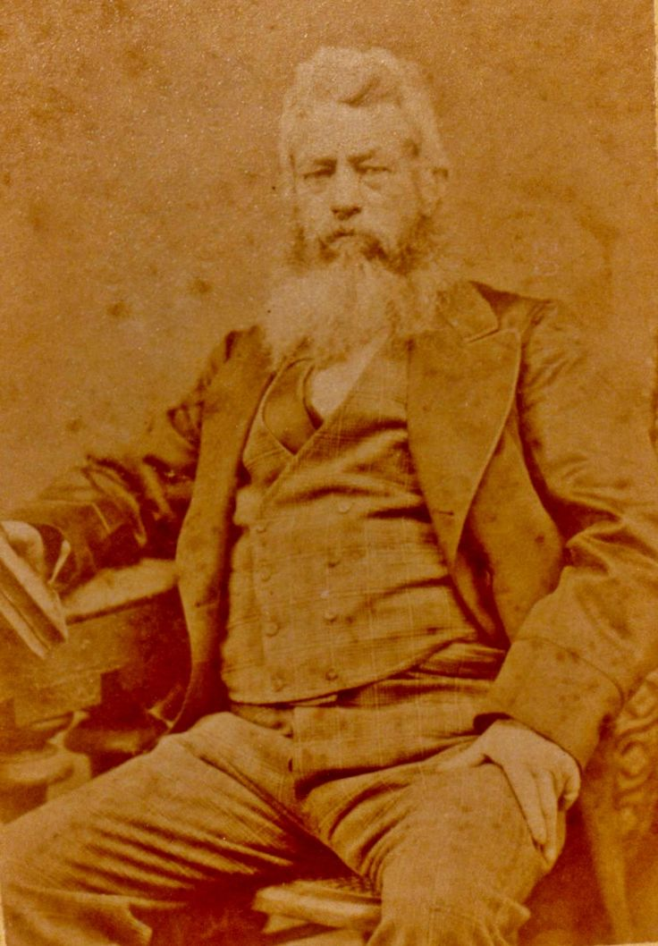 Thomas A. Mathews ( 1825-1913) Photo taken 1880/1.