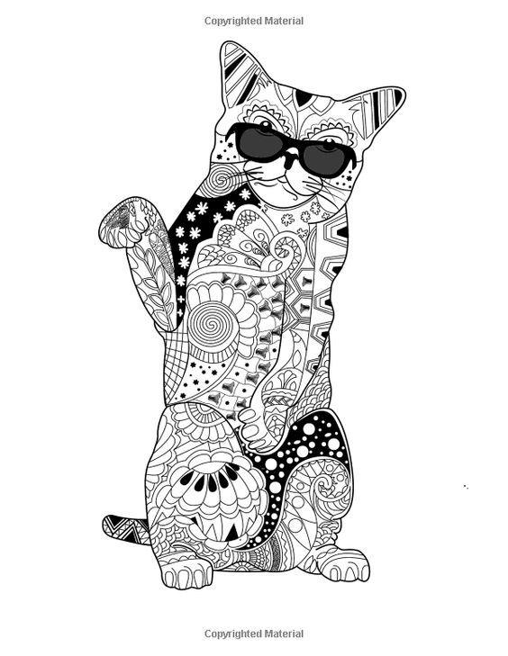 27 Best Images About Doodle Cats On Pinterest