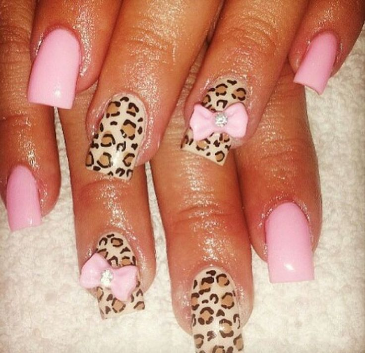 49 Stylish Leopard And Cheetah Nail Designs That You Will Love - The 25+ Best Cheetah Nail Designs Ideas On Pinterest Pretty