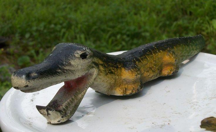 Vintage Metal/ Brass/Cast-Iron Alligator Bottle Opener  Collectors Item