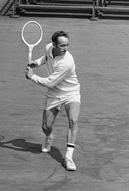 All-Time Great Rod Laver from Australian Tennis player - when all tennis was grass court tennis.