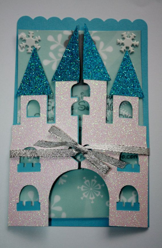 Frozen Castle Invitation