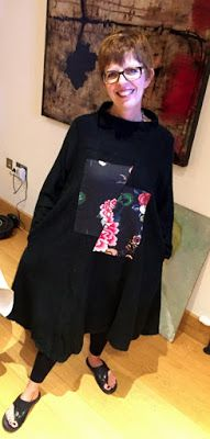 MHBD's Blog: Chinese Black dress - What I'm wearing today