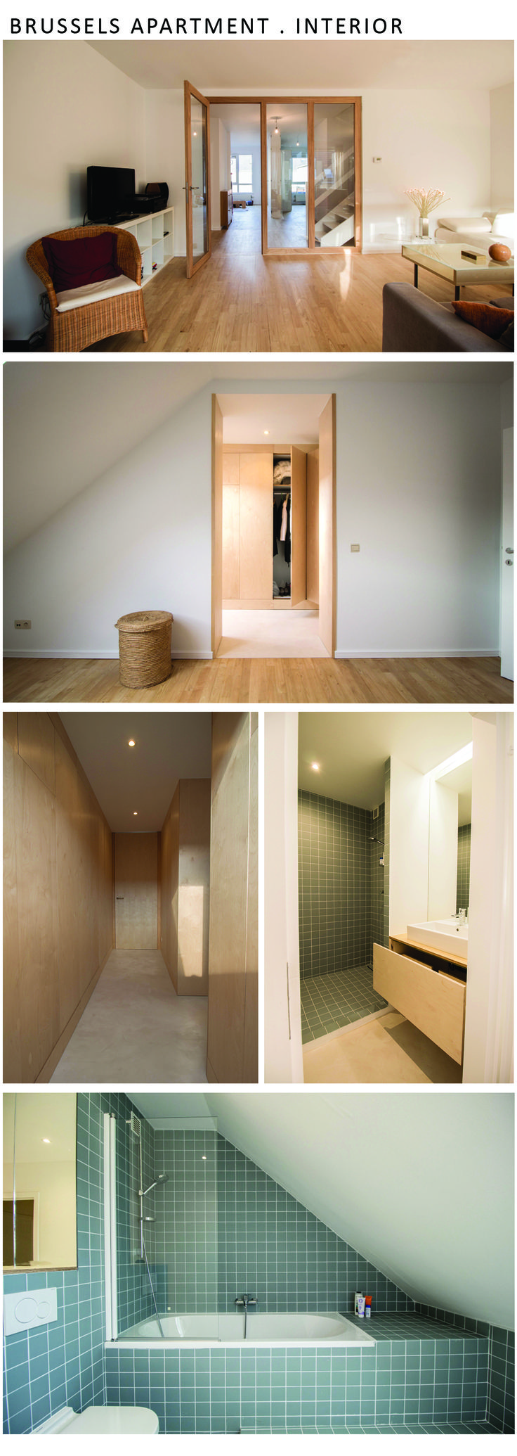Renovation of apartment . Interior design developer and creative in BC architects . 2014 . Brussels | Belgium