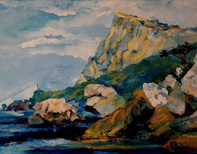 """Check out new work on my @Behance portfolio: """"Crimea"""" http://be.net/gallery/48236503/Crimea"""