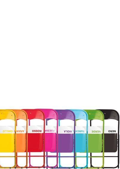 Sedia pieghevole Color