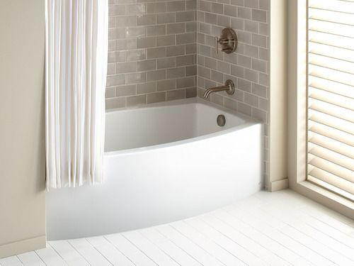 Best Bathroom Ideas Images On Pinterest Bathroom Ideas Bath - Alcove soaking tub with shower