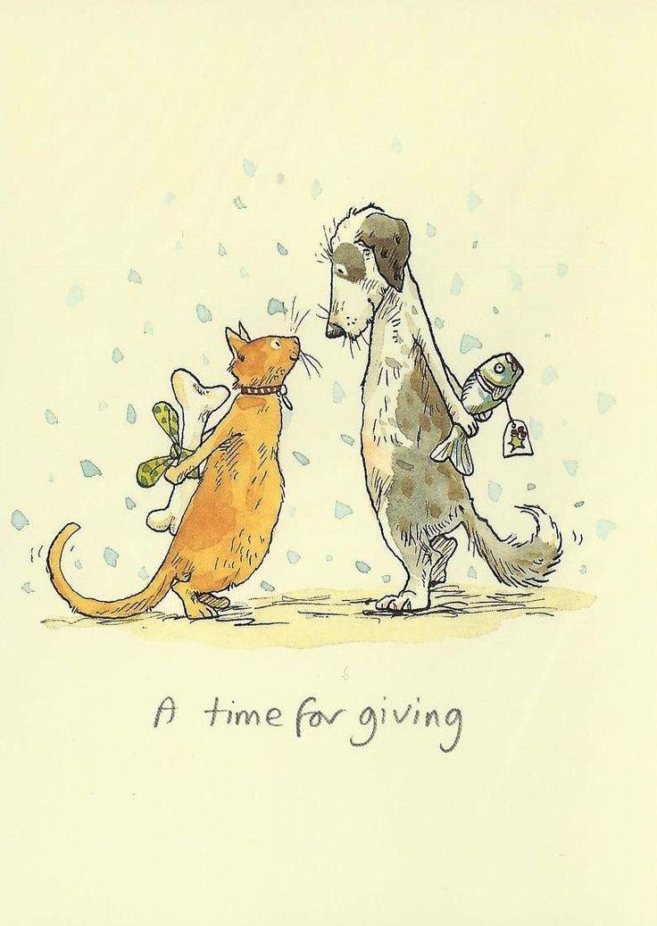 Karte mit einer Katze und einem Hund ★ More on #cats - Get Ozzi Cat Magazine here >> http://OzziCat.com.au ★
