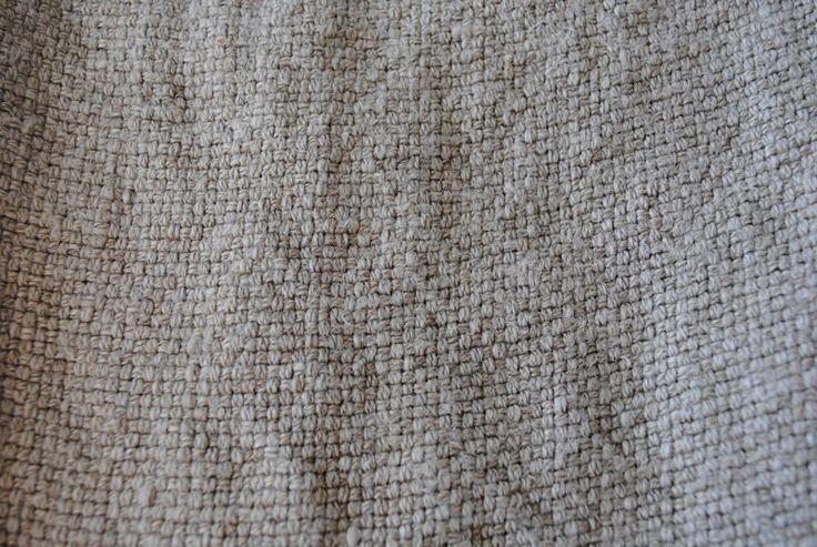 Basket Weave Flax 100% linen - 130cm