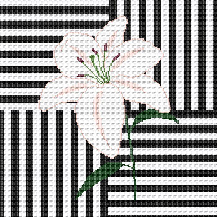 Вышивка крестом Лилия схема pdf. Схема лилии, вышивка лилии, вышивка крестом цветы, лилия подушка, модерн, черно белый фон, подушка цветы by AnnaXStitch on Etsy