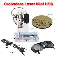 Grabadora Laser Mini USB NEJE JZ-6 SD, Grabado, Marcado y Corte, Escritorio