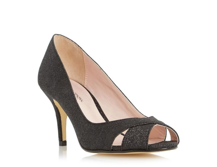 2016 Kiki Patent Court Shoe With Small Bow Black for Women Sale Online