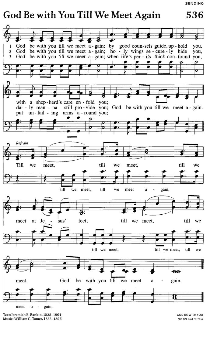 Christian sheet music singles