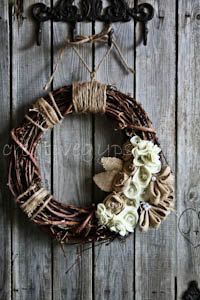 Rustic Burlap and Ivory by TheCreativeGypsy
