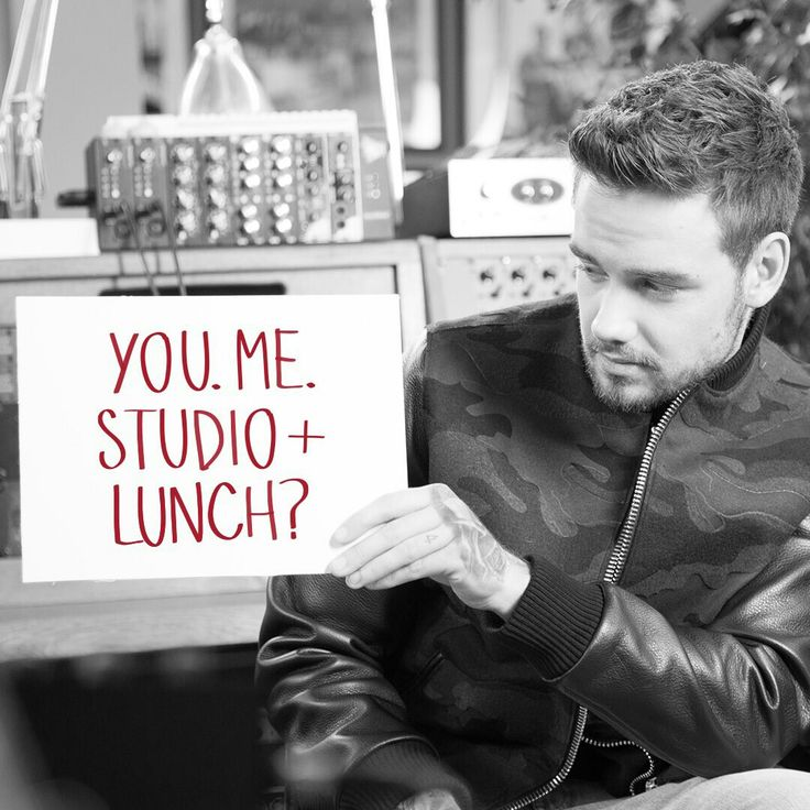 About time you asked me Liam