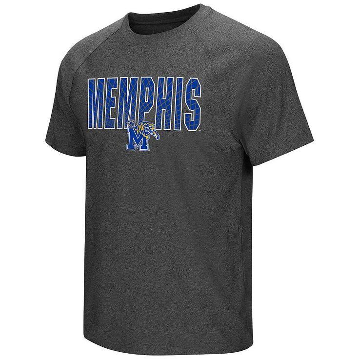 Men's Campus Heritage Memphis Tigers Castle Raglan Tee, Size: Large, Blue Other