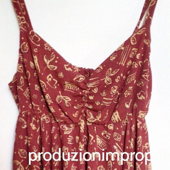 Barnum Dress: abito con fondo asimmetrico - Tutorial abito senza cartamodello