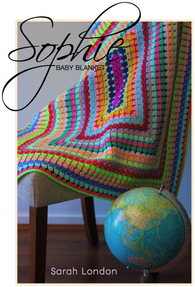 Sophie | Sarah London PDF Pattern great pattern for a baby blanket:)