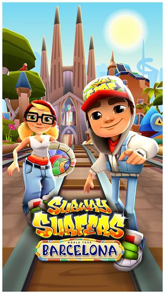 Subway Surfers v1.76.0 [Mod]   Subway Surfers v1.76.0 [Mod]Requirements:4.0 and upOverview:DASH as fast as you can! DODGE the oncoming trains!  Help Jake Tricky & Fresh escape from the grumpy Inspector and his dog.   Grind trains with your cool crew!  Colorful and vivid HD graphics!  Hoverboard Surfing!  Paint powered jetpack!  Lightning fast swipe acrobatics!  Challenge and help your friends!  Join the most daring chase!  A Universal App with HD optimized graphics.  By Kiloo and Sybo…