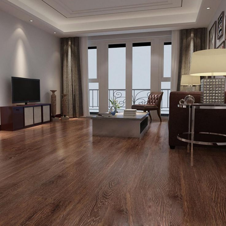 6 Tiles 0.5MM Home Floor Self-adhesive PVC Floor Sticker Thickened Wearable Waterproof Bedroom
