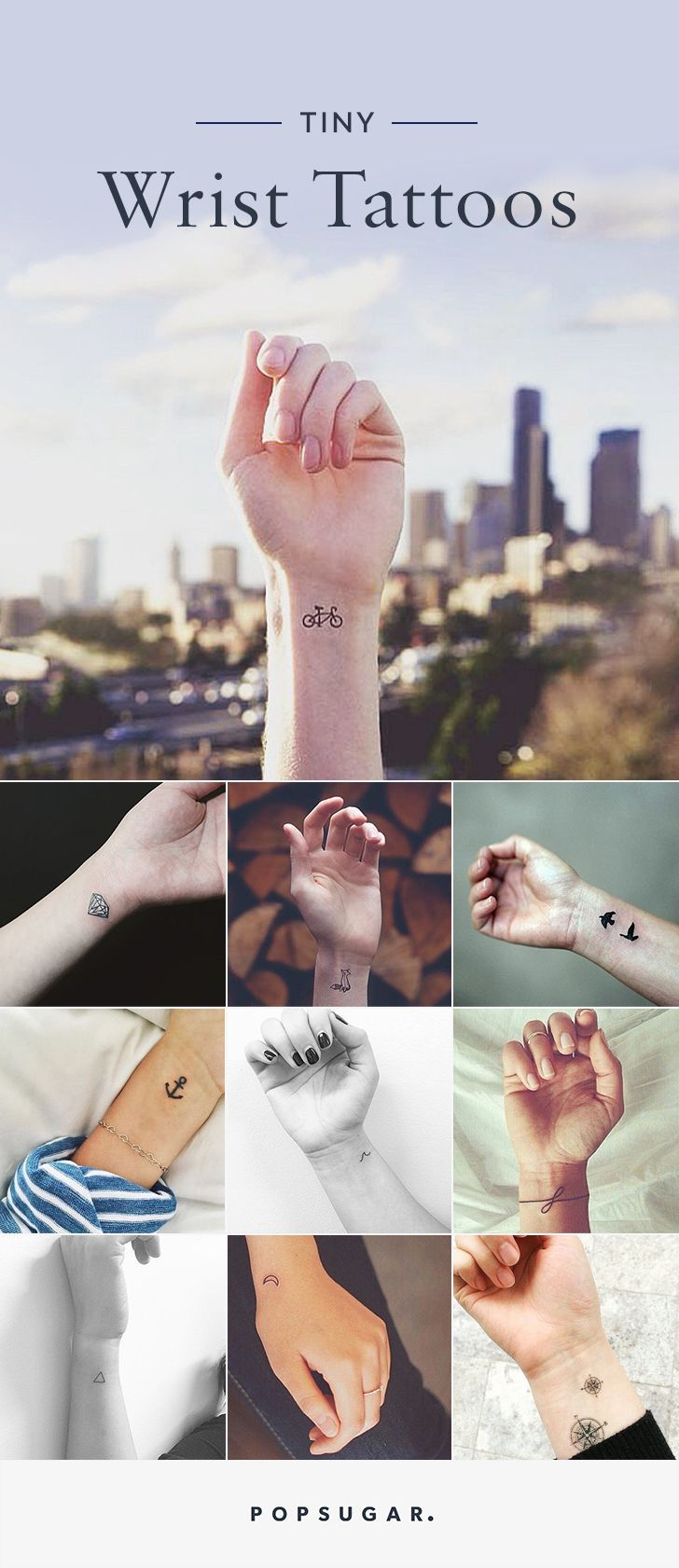 Wrist tattoos are the ultimate accessory.