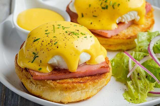 Receta de huevos benedictinos - Cómo preparar huevos - Cocina Vital