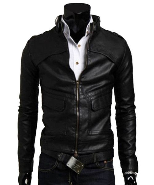 17 best images about Celebrity Leather Jacket on Pinterest | Men's ...