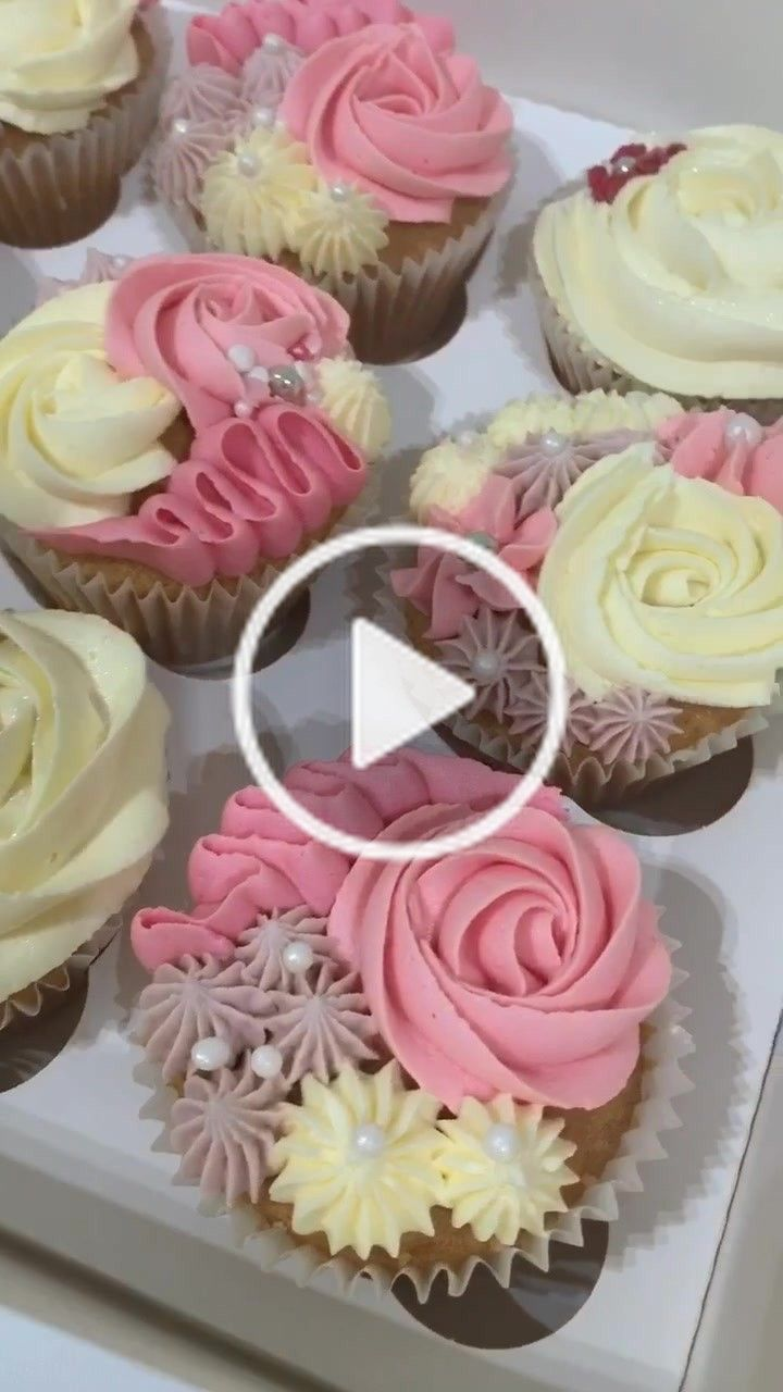Cakes Bakes Cakesbakesbecca On Tiktok Mother S Day Cupcakes Fyp Cupcakes Foryoupage Mothers Day Desserts Mothers Day Cupcakes No Bake Cake