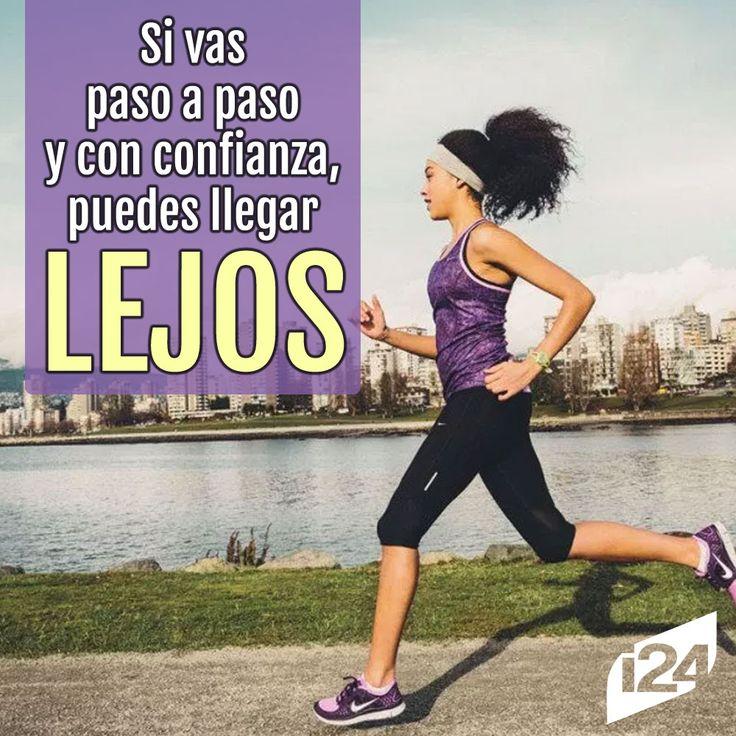 ¡Sigue así! #Fitness #Motivación #Frase