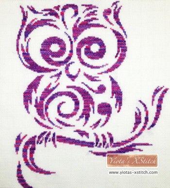 Tribal owl cross stitch kit                                                                                                                                                                                 More