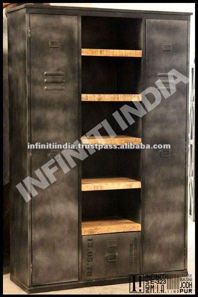 Oltre 25 fantastiche idee su mobili in stile industriale for Armadio stile industriale