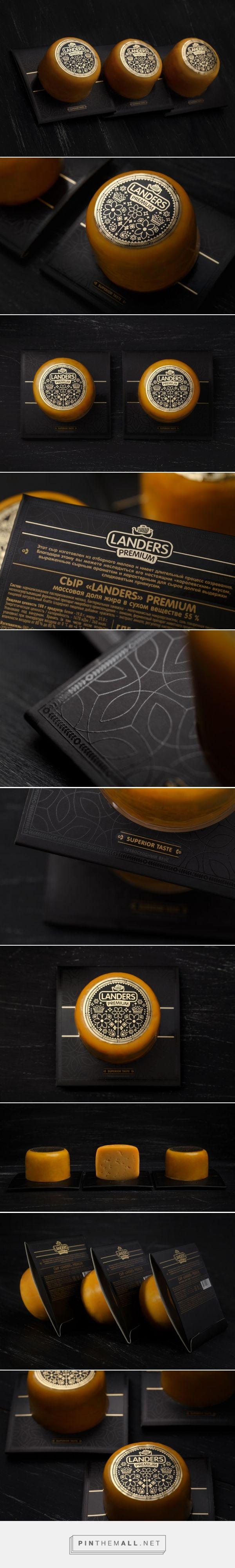Landers Premium Cheese Packaging by Fabula Branding | Fivestar Branding Agency – Design and Branding Agency & Curated Inspiration Gallery